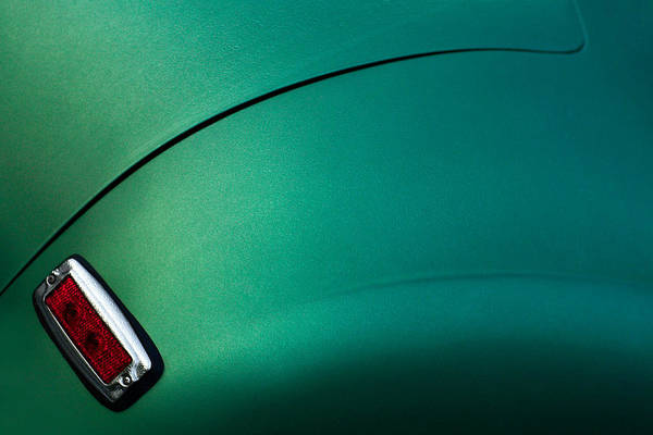 Green Car Photograph - Emerald Frazer by Todd Klassy