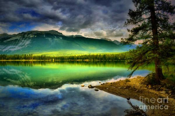 Photograph - Emerald Glow At Lake Edith by Tara Turner