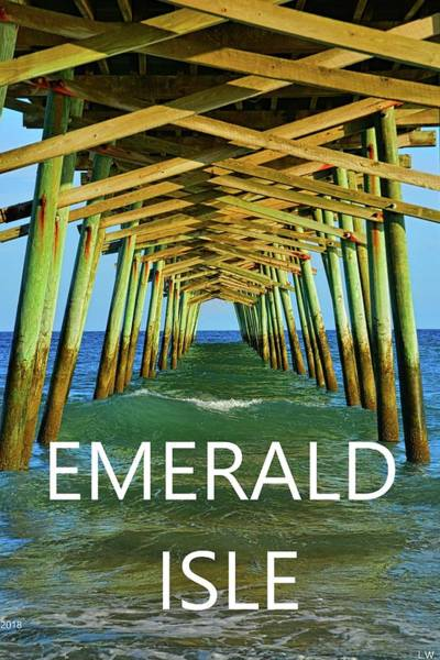 Photograph - Emerald Isle by Lisa Wooten