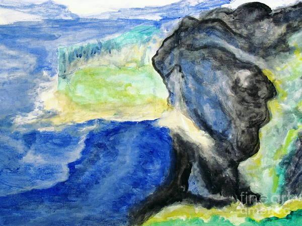 Painting - Emerald Isle by Stanley Morganstein