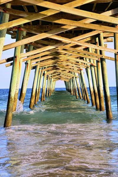 Photograph - Emerald Isles Pier by Lisa Wooten
