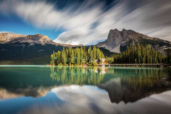 Photograph - Emerald Lake Lodge In Yoho National Park by Pierre Leclerc Photography