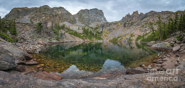 Photograph - Emerald Lake Panorama  by Michael Ver Sprill