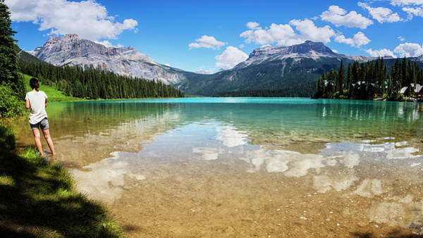Photograph - Emerald Lake Yoho National Park Canada by Joan Carroll