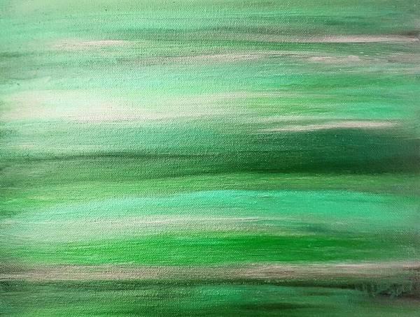 Digital Art - Emerald Mirage by Rachel Hannah