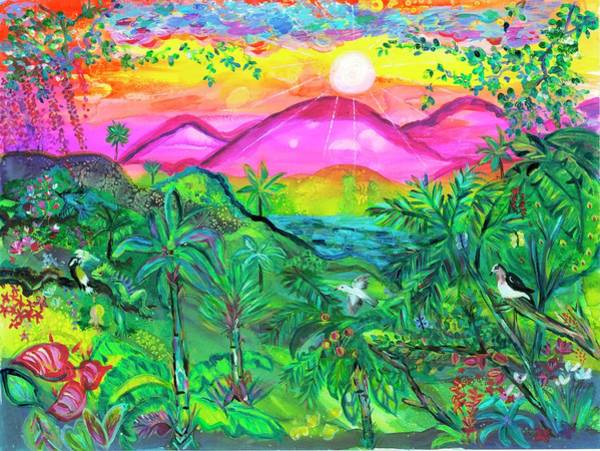 Wall Art - Painting - Emerald Morning by Bridget Weber