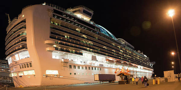 Photograph - Emerald Princess In Victoria Bc Canada by Michael Bessler