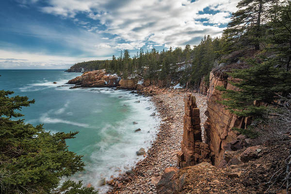 Photograph - Emerald Shores At Monument Cove by Jesse MacDonald