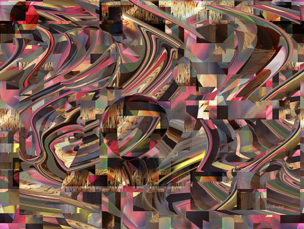 Digital Art - Emerge Abstract by rd Erickson