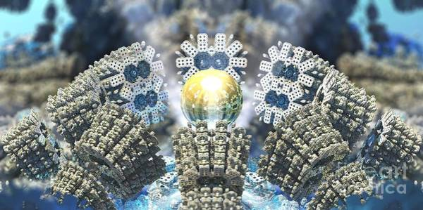 Digital Art - Emergence by Jon Munson II