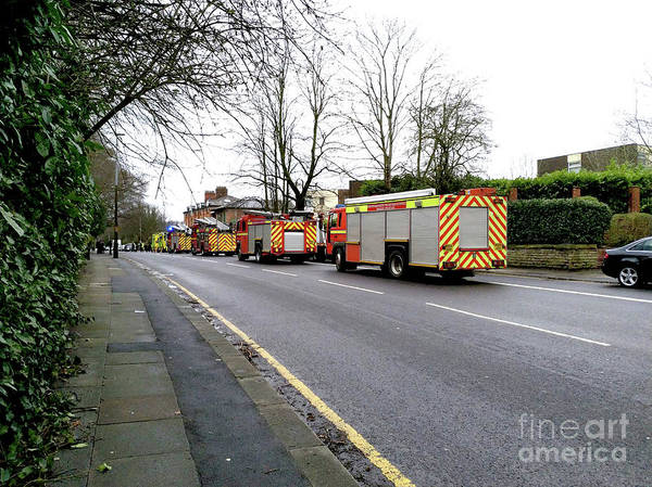 Photograph - Emergency Services - Uk by Doc Braham