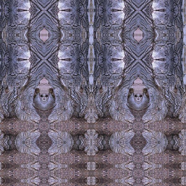 Digital Art - Emerging From A Lavender Doorway by Julia L Wright