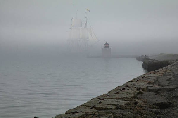 Photograph - Emerging From The Fog by Jeff Folger