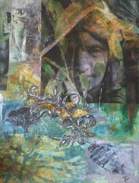 Transfer Mixed Media - Emerging by John Vandebrooke