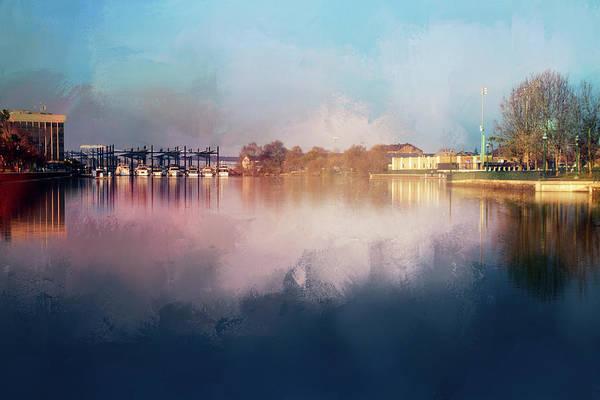 Wall Art - Digital Art - Emerging Marina by Terry Davis