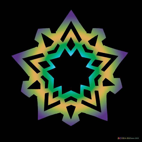 Digital Art - Emerson Star by Eric Edelman