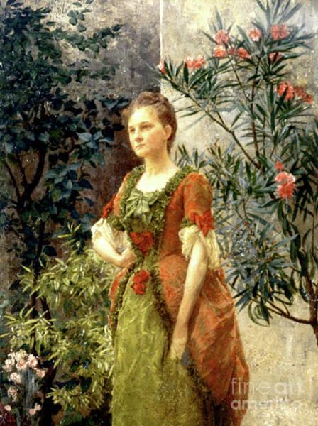 Full Bloom Painting - Emilie Floge by Gustav Klimt