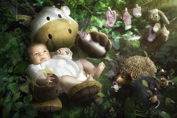 Baby Photograph - Emilie's World by Christophe Kiciak