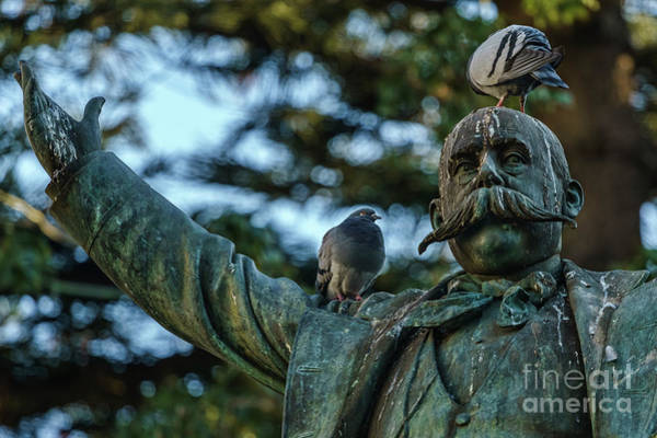 Photograph - Emilio Castelar Statue Cadiz Spain by Pablo Avanzini