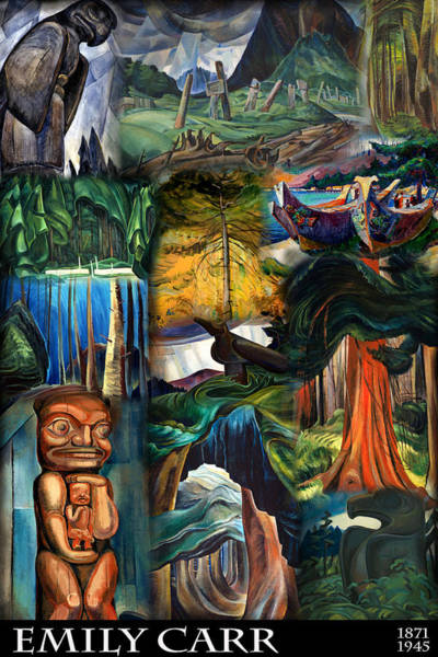 Photograph - Emily Carr by Andrew Fare