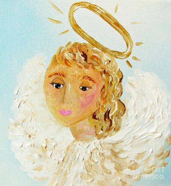 Angelic Beings Painting - Emily by Eloise Schneider Mote