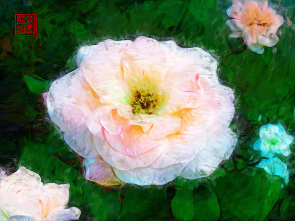 Painting - Emily's Rose by Geoffrey Lewis
