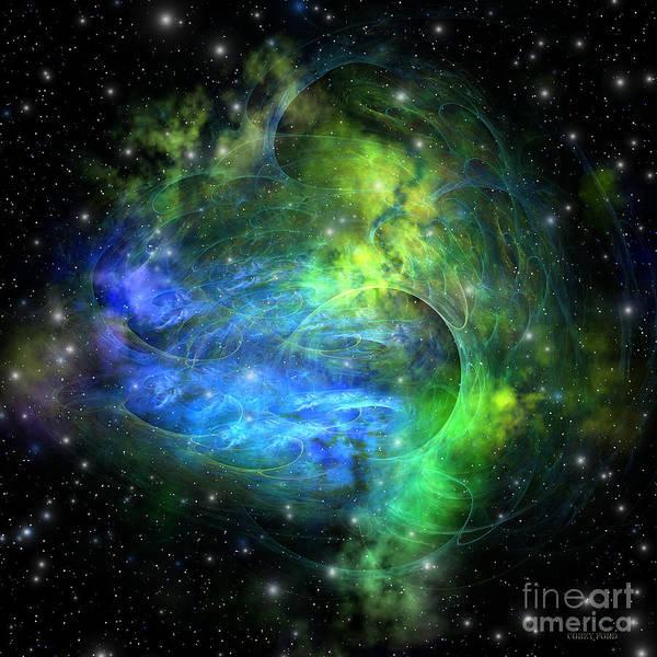 Endless Painting - Emission Nebula by Corey Ford