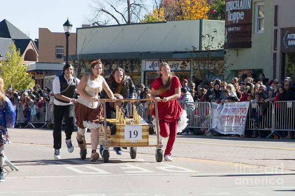 Photograph - Emma Crawford Coffin Races In Manitou Springs Colorado #19 by Steve Krull
