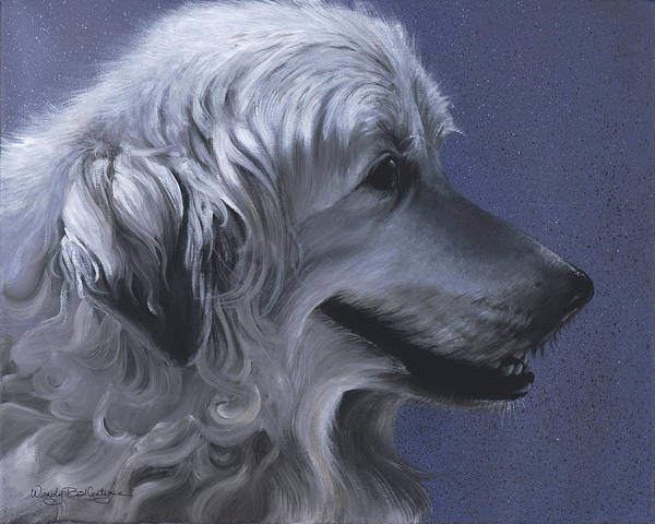 Pyrenees Painting - Emma by Wendy Ballentyne