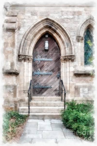 Emmanuel Wall Art - Photograph - Emmanuel Church Newbury Street Boston Ma by Edward Fielding