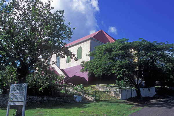 Photograph - Emmaus Moravian Church by Pauline Walsh Jacobson