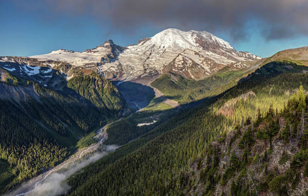 Photograph - Emmons Vista Of Mount Rainier by Pierre Leclerc Photography