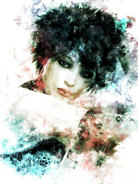 Beautiful Mixed Media - Emo by Shanina Conway