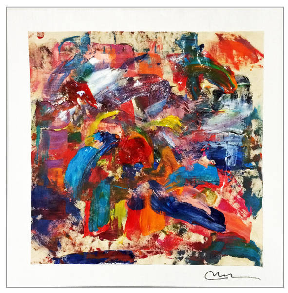Decorative Wall Art - Painting - Emotion In Motion by Mac Worthington
