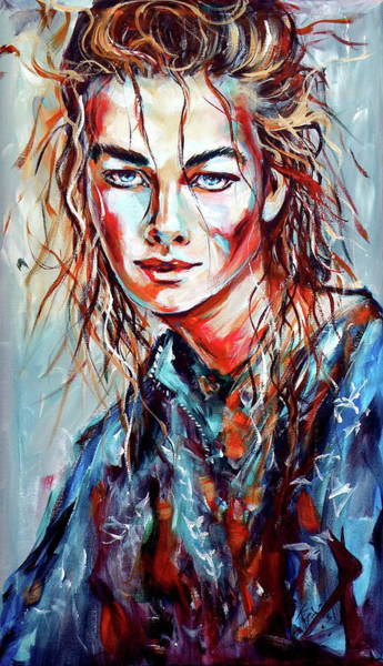 Mood Painting - Emotion by Kovacs Anna Brigitta