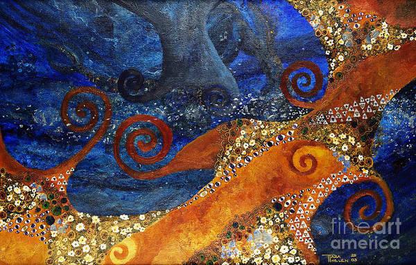 Eyeballs Painting - Emotional Water by Tara Thelen - Printscapes