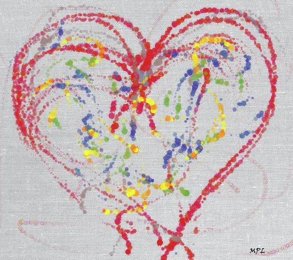 Painting - Emotions Of The Heart by Marian Palucci-Lonzetta
