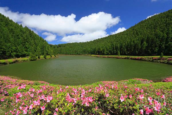 Acores Photograph - Empadadas Lakes by Gaspar Avila