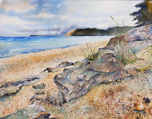 Up North Painting - Empire Beach by Adam VanHouten