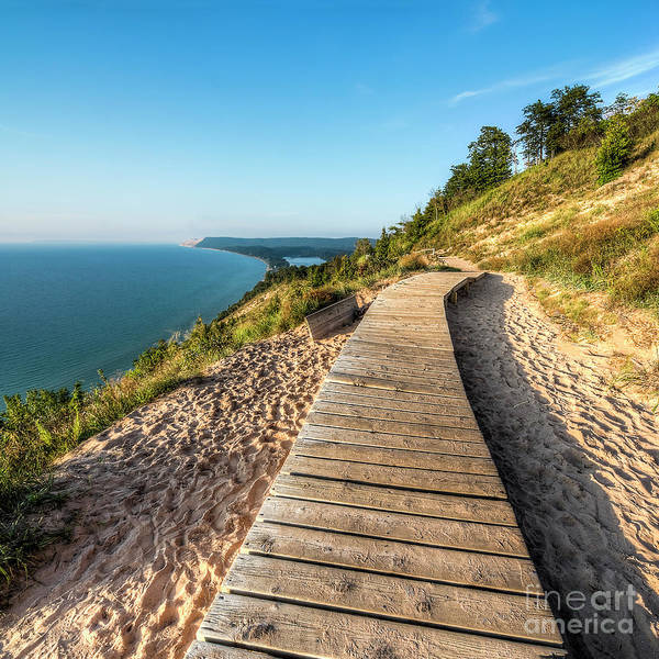 Wall Art - Photograph - Empire Bluff 1x1 by Twenty Two North Photography