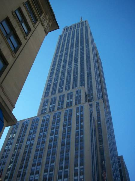 Photograph - Empire State 2 by Anita Burgermeister