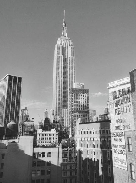 Photograph - Empire State Building by Amanda Rimmer