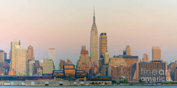 Photograph - Empire State Building And Skyline I by Clarence Holmes