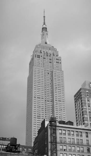 Photograph - Empire State Building - Art Deco Icon by Richard Reeve