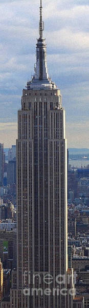 Painting - Empire State Building by Celestial Images
