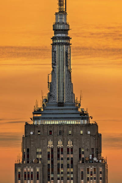 Photograph - Empire State Building Esb Broadcasting Nyc by Susan Candelario