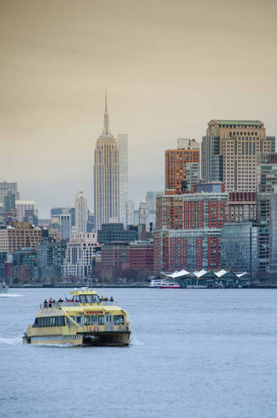 Wall Art - Photograph - Empire State Building From The Hudson by Bill Cannon