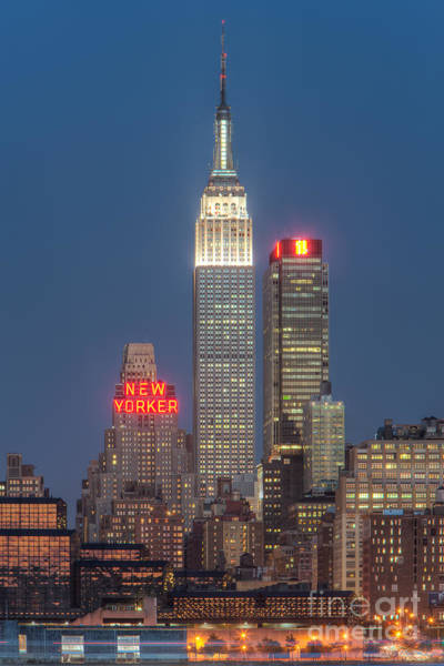 Photograph - Empire State Building II by Clarence Holmes