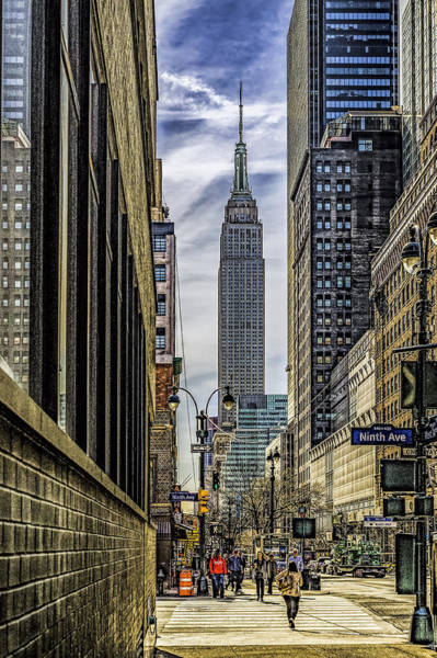 Photograph - Empire State Building by Nick Zelinsky