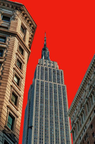 The Empire State Building Digital Art - Empire State by Dorival Moreira